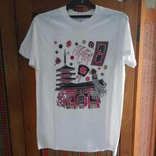 Kaos Jepang Size M
