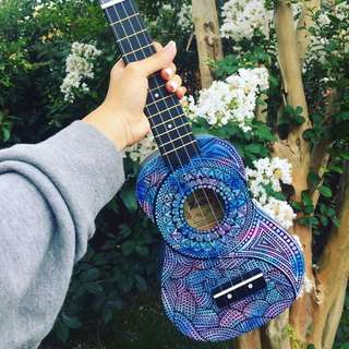 Customisable Hand Painted Ukuleles