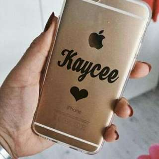 Decal Phone Case