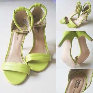 Authentic Prabal Gurung fot Target Ankle Strap Heels // Sandal Tinggi Wanita