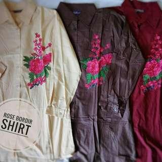 Rose Bordir Shirt