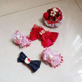 Jepit Anak Hello Kitty (10k/pcs)