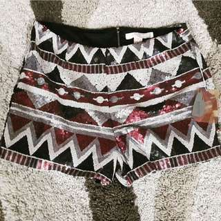 Forever 21 Sequined Shorts