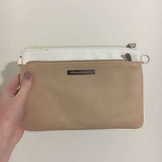 Colette Two Section Pouch