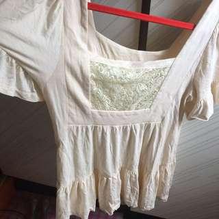 🇯🇵購買商品即可免費獲得日製純棉小洋裝上衣