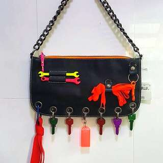 For TRENDYSTASH - Authentic MOSCHINO Vintage Chain Bag