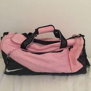 Pink Nike Duffle/sports Bag