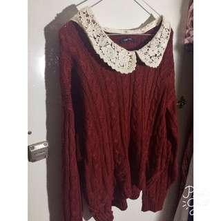 Collared Woman Knitwear