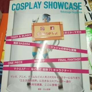 Cosplay Showcase Book.
