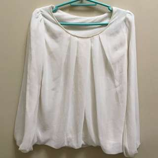 White Blouse from HK