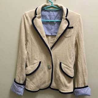 Semi-formal coat from HK