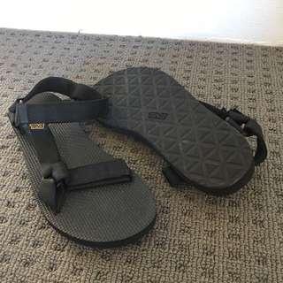 Black Teva Sandals