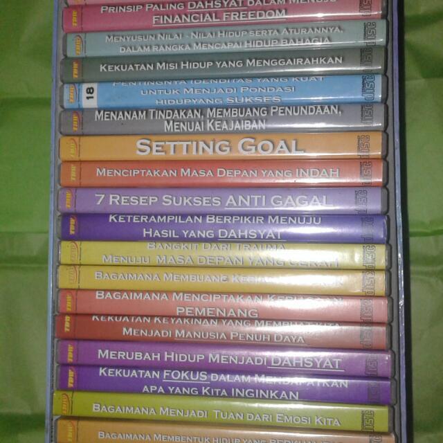 TURUN HARGA !!Paket CD Motivasi Life Revolution Tung Desem Waringin (Ori)