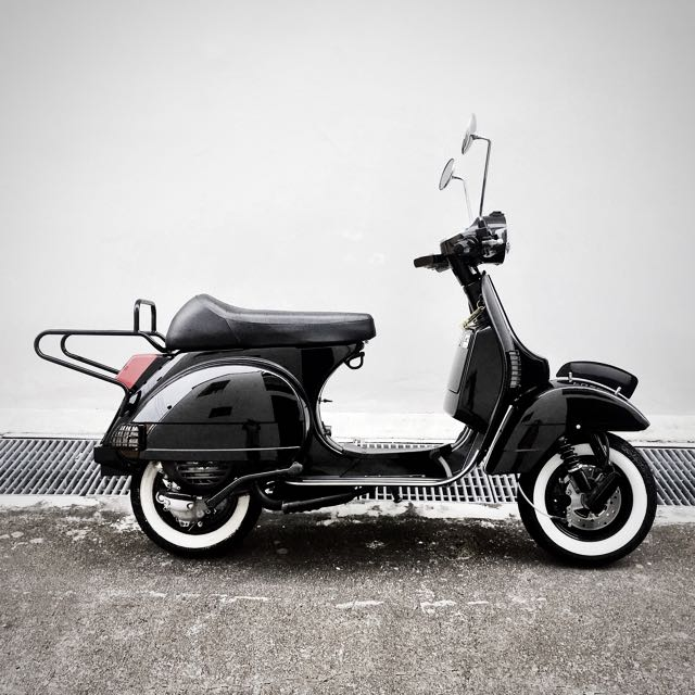 2016 vespa px 150 motorbikes motorbikes for sale class. Black Bedroom Furniture Sets. Home Design Ideas