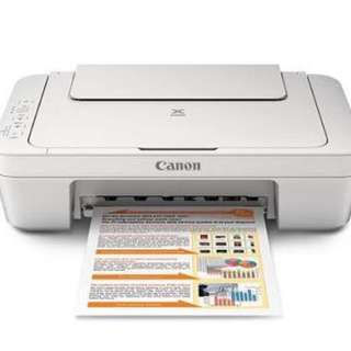 Canon Printer MG2500