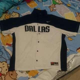 Nike Dallas Mavericks Authentic Shooting Jersey Jacket 達拉斯小牛 Nowitzki