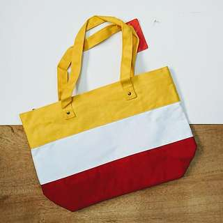 [less 50php] Stripped Canvass Bag