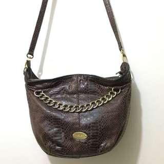 Nine West Brown Crossbody Bag
