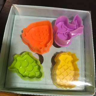 Biscuit Mould - Fruit Pattern