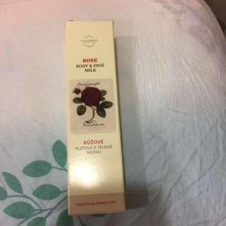 菠丹妮玫瑰臉部活膚乳(Rose body&face milk)50g