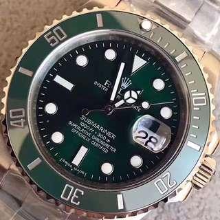 ROLEX SUBMARINER 勞力士 綠水鬼 腕錶 手錶