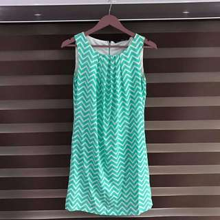 Forme Green Dress