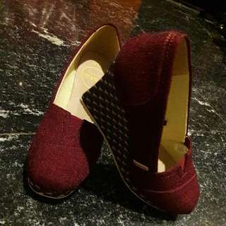 Sepatu Wedges WAKAI