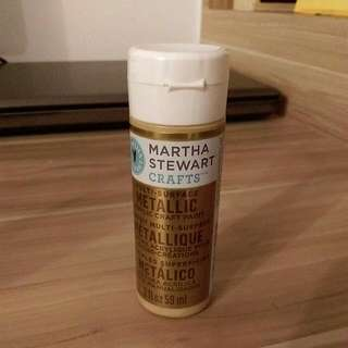 *bn* Martha Stewart Multi surface Metallic Gold Acrylic Paint