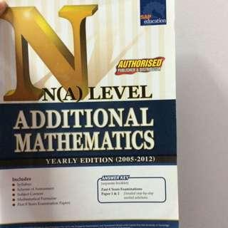 NA additional math yearly edition