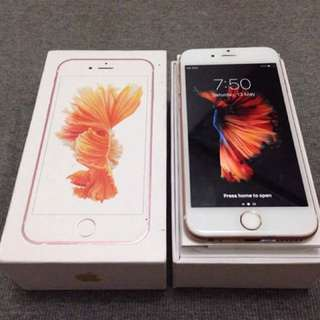 Iphone 6s Plus Rosegold 16gb