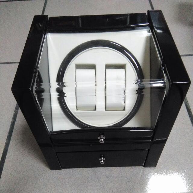 搖錶器。機械錶自動上鍊錶盒。收藏盒。(二手)約八成新