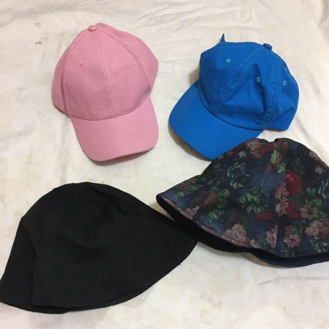 各式二手帽子