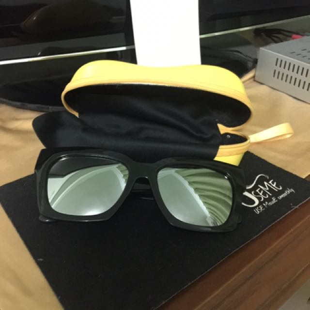 水銀色 復古 偏光太陽眼鏡
