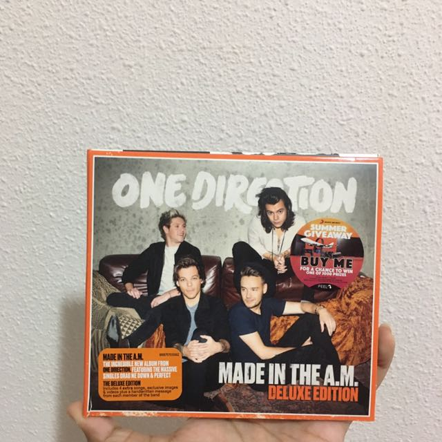 🔹 ONE DIRECTION MADE IN THE AM DELUXE ALBUM