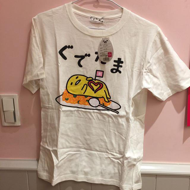 蛋黃哥 白色短t 日本代購購入