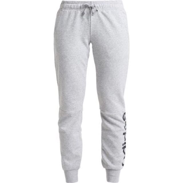 f34c757a6271 Adidas Essential Linear Grey Track pants