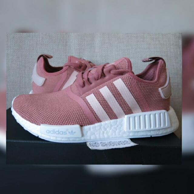 Adidas NMD R1 Pink Rose Peach on Carousell