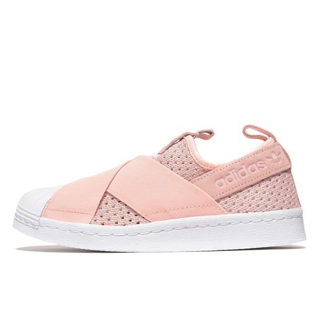 Adidas Pink Slip On Women, Women's