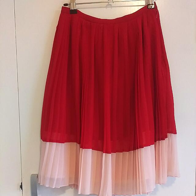 Alannah Hill Pleated Retro Skirt AU8