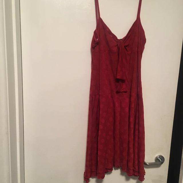 Alannah Hill Red Dress 10