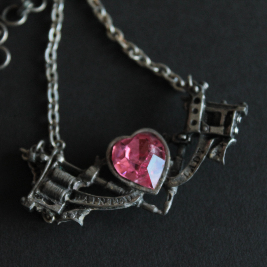 Alchemy Gothic 'PAINTED LADY' necklace
