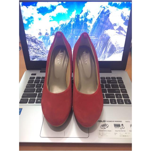 Alive Red Heels