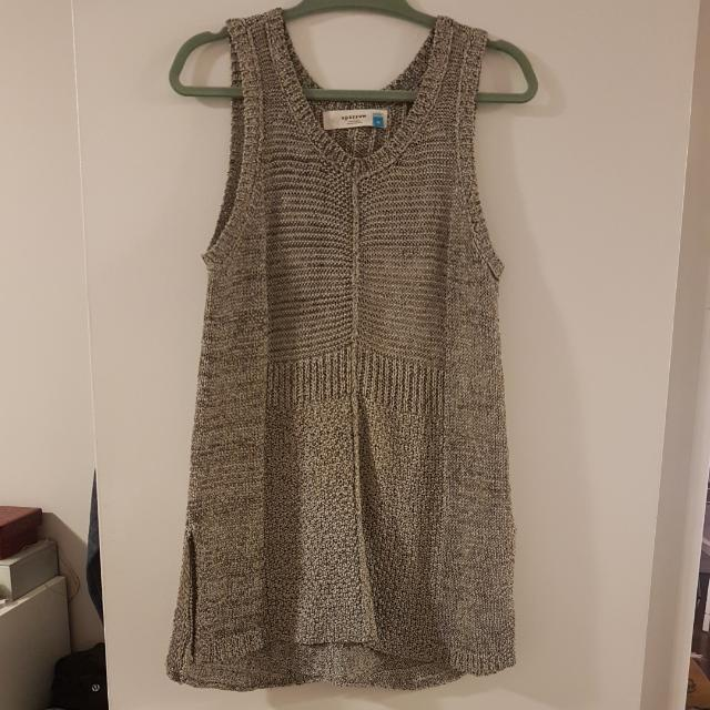 Anthropologie Crochet Vest