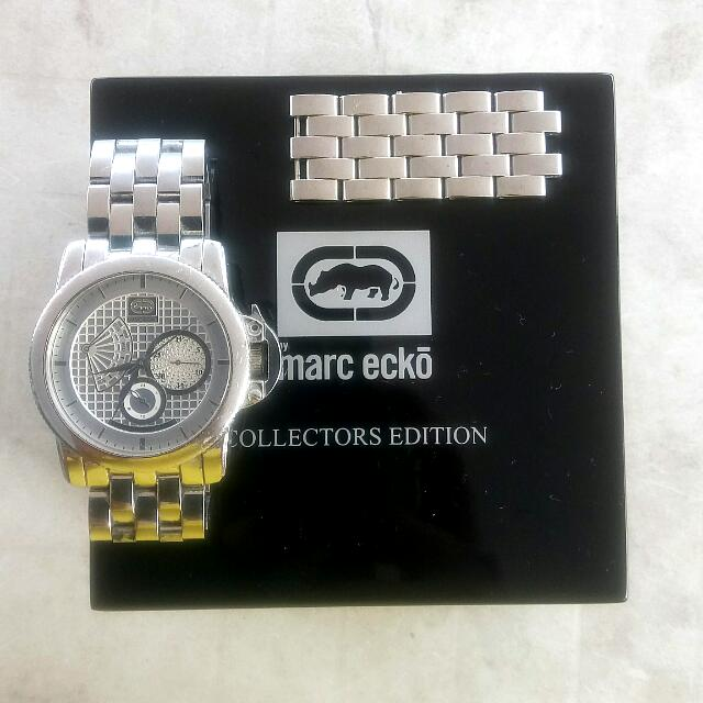 17f9d31a153 Authentic Marc Ecko Ladies Watch For Grabs! Silver Marc Jacobs ...