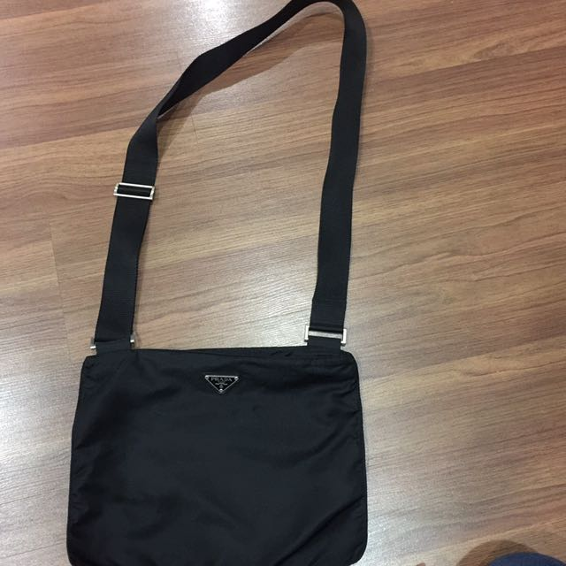 14757455466b Authentic Original Prada Nylon Sling Bag From Japan