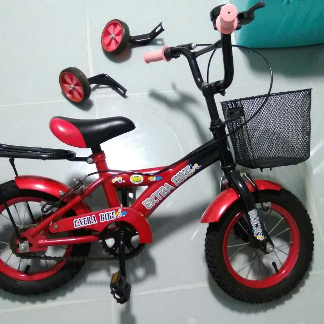 Baby Bicycle With Trainer's Wheel
