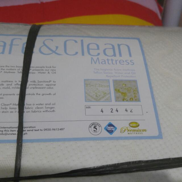 "Mattress For Baby's Crib  Size: 4""thick x 24""width x 42""length"