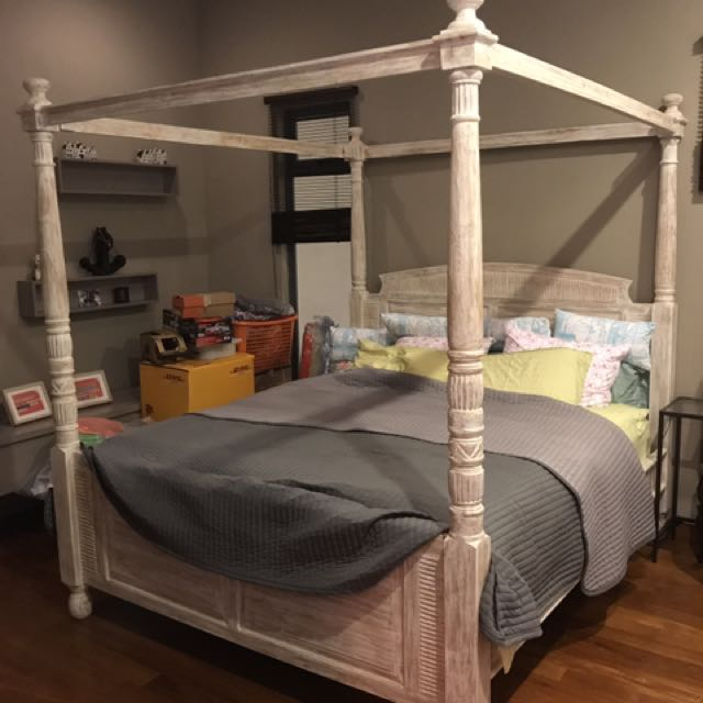 Bali Bed Frame Furniture Beds Mattresses On Carousell