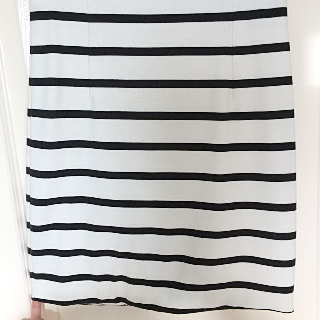 BARDOT Striped Skirt
