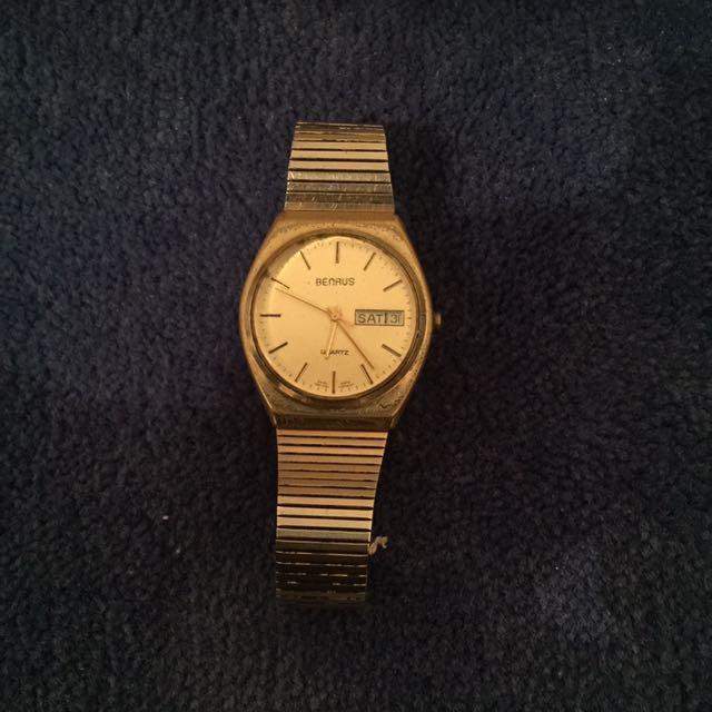 Benrus Gold Watch